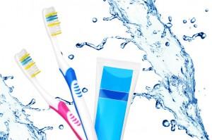 Gesundes und schönes Zahnfleisch ohne Parodontitis